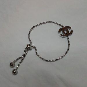 Chanel Adjustable Logo Bracelet